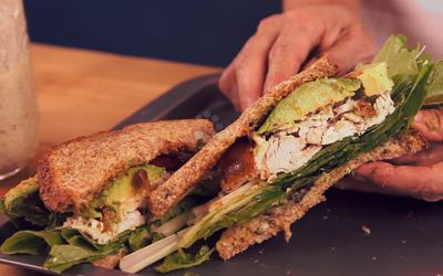 Chipotle Chicken Salad Sandwich Recipe